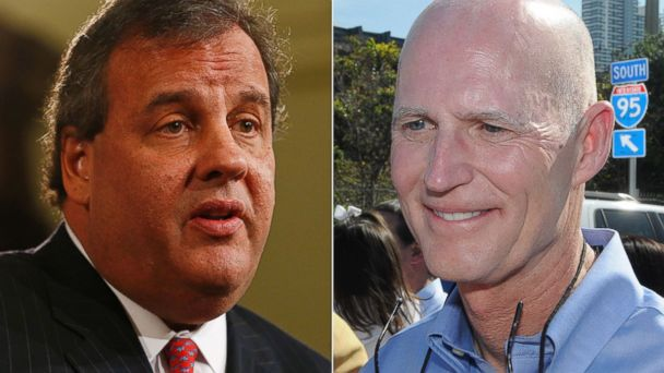 gty chris christie rick scott kb 140113 16x9 608 Why This GOP Governor Still Wants Help From Chris Christie