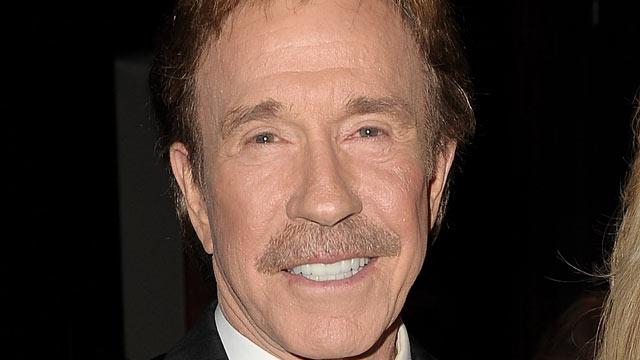 PHOTO: Actor Chuck Norris attends the 17th