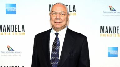 PHOTO: General Colin Powell attends the Mandela: Long Walk To Freedom photo call at The John F. Kennedy Center for Performing Arts on November 20, 2013 in Washington, DC.