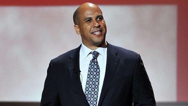 PHOTO: Cory Booker speaks onstage at the 22nd annual Glamour Women of the Year Awards at Carnegie Hall on Nov. 12, 2012, in New York City.