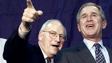 PHOTO: Dick Cheney and George W. Bush