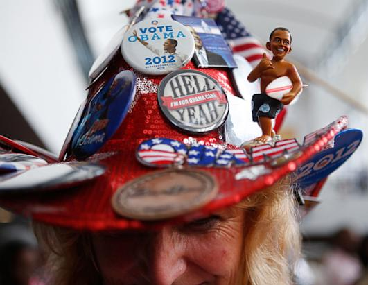 The Best Signs, Buttons and Swag at the Democratic National Convention