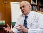 PHOTO: Medicare Administrator Dr. Donald Berwick answers questions during an interview, April 12, 2011, in Washington.