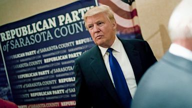 PHOTO: Donald Trump at GOP dinner