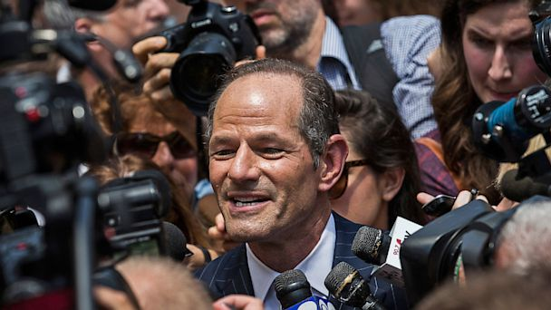 gty eliot spitzer ll 130814 16x9 608 Weiner Flails, Spitzer Soars in New NY Polls