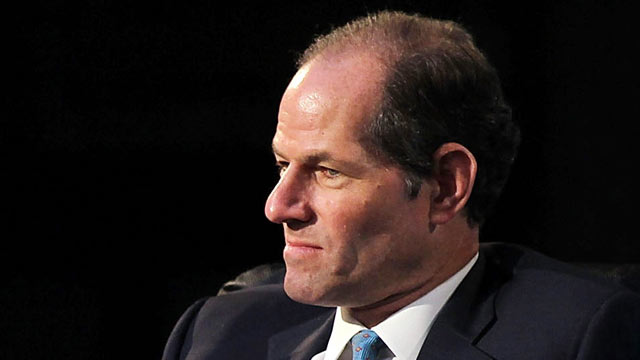 PHOTO: Former New York Governor Eliot Spitzer speaks at a forum on the future of New York, Sept. 16, 2010 at the New York Public Library in New York City.