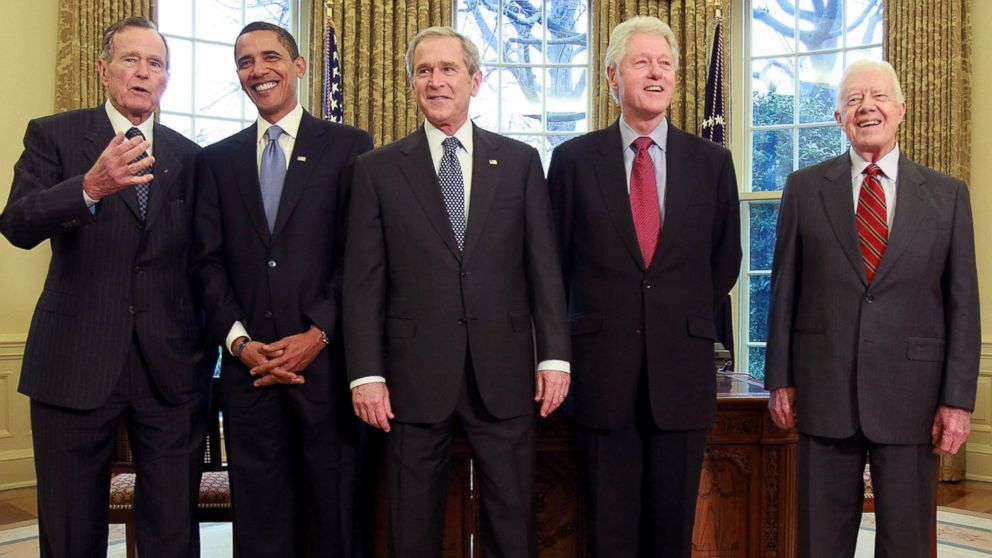 first five presidents