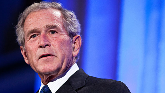 PHOTO: Former President George W. Bush speaks at the Summit to Save Lives on Sept. 13, 2011 in Washington, DC.