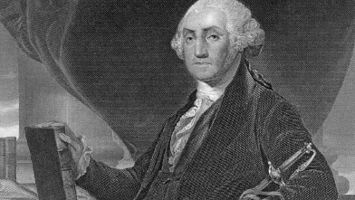 PHOTO: Portrait of George Washington.