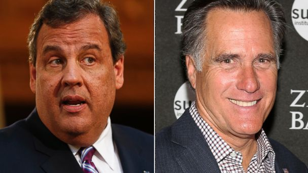 gty gty christie romney kb 140227 16x9 608 Chris Christie and Mitt Romney Mend Fences to the Tune of $1 Million