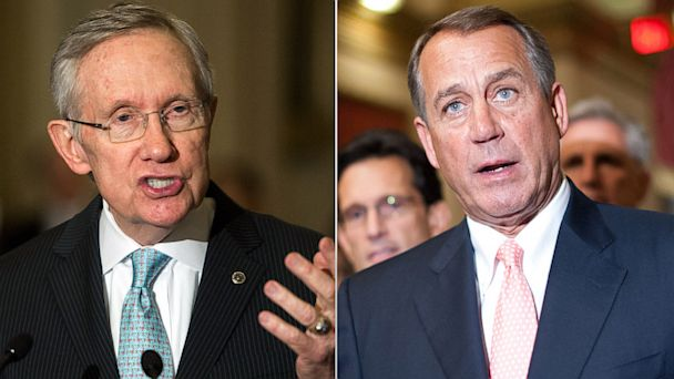 gty harry reid john boehner government shutdown thg 131001 16x9 608 Government Shutdown Standoff: What Happens Next?