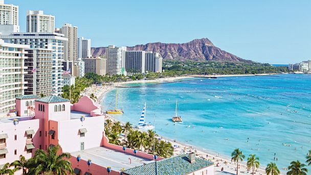 PHOTO: Waikiki Beach in Hawaii.