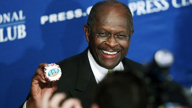 PHOTO: Herman Cain to America: Lighten Up!
