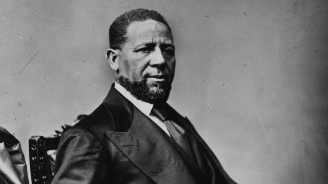 PHOTO: Hiram R. Revels was the first African-American to sit in the United States Senate.