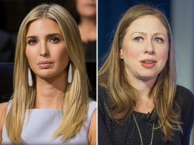 Chelsea and Ivanka: Friends and Daughters of Political Rivals