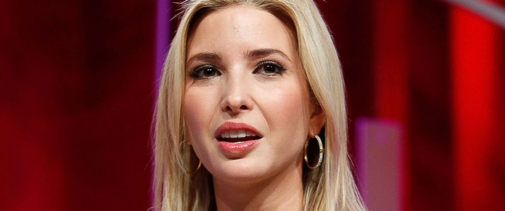 PHOTO: Ivanka Trump speaks during an event at the Mandarin Oriental Hotel on Oct. 14, 2015 in Washington, DC.
