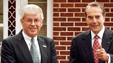 PHOTO: Jack Kemp and Bob Dole