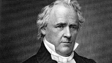 PHOTO: James Buchanan (1791-1868), the fifteenth President of the United States, who served from 1857 to 1861, is seen in this undated portrait.