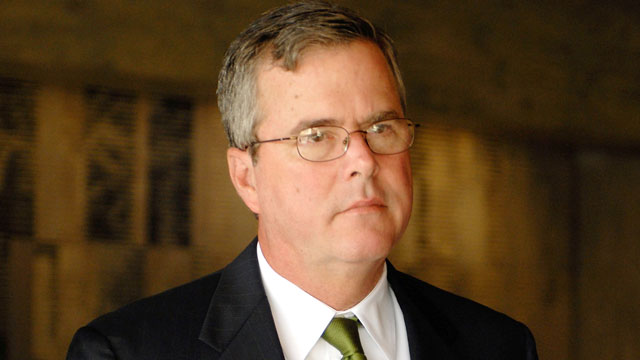PHOTO: Jeb Bush, Governor of Florida, attends a conference discussing Innovation in Education Systems at the Calouste Gulbenkian Foundation in Lisbon, Portugal.