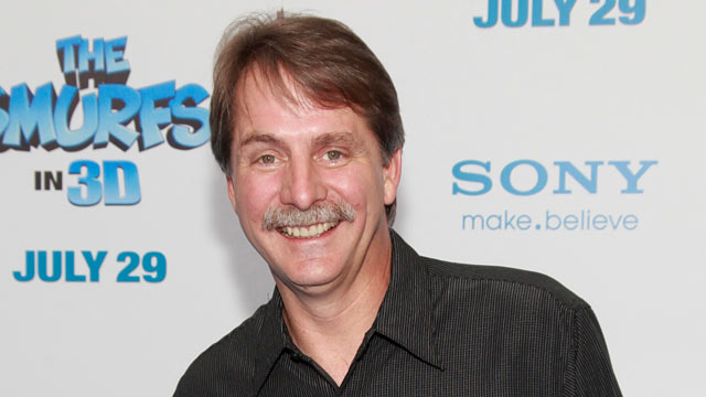 "PHOTO: Comedian Jeff Foxworthy attends the premiere of ""The Smurfs"" at the Ziegfeld Theater, July 24, 2011 in New York City."