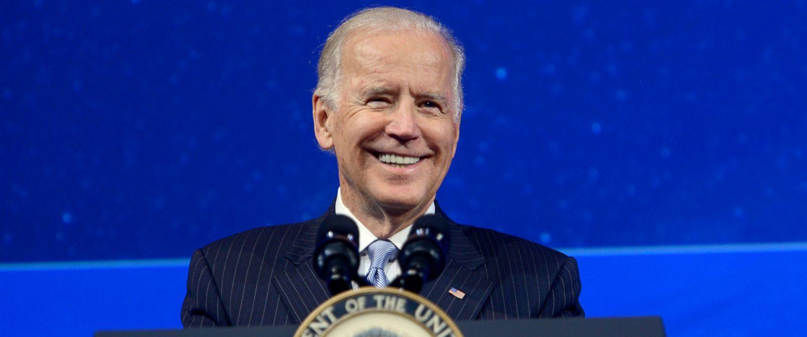 PHOTO: Vice President Joe Biden speaks on stage during the 2015 Concordia Summit at Grand Hyatt New York on Oct. 1, 2015 in New York.