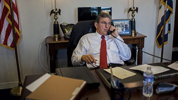 gty joe manchin ll 131002 16x9 608 Some Senators Manning the Phones for Furloughed Staff