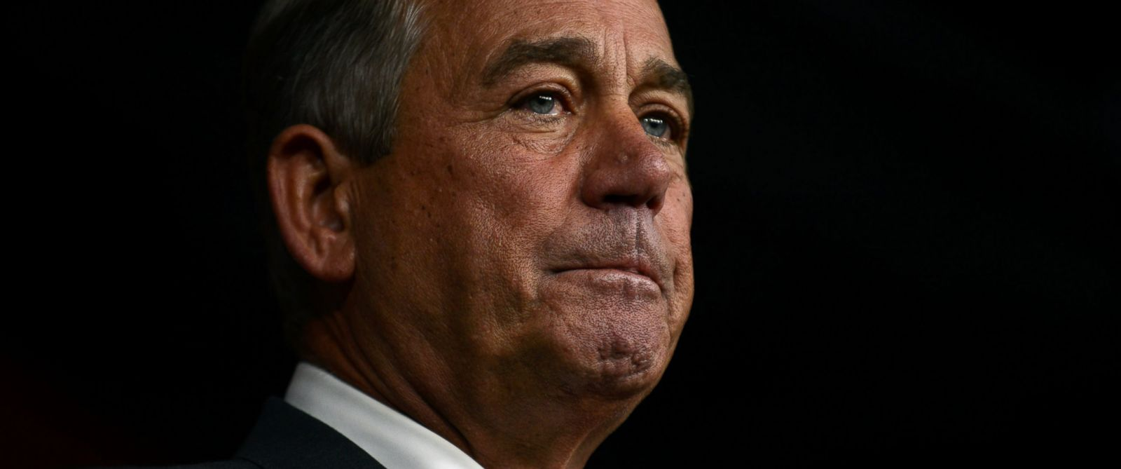 PHOTO: House Speaker John Boehner announces his resignation during a press conference on Capitol Hill, Sept. 25, 2015 in Washington.