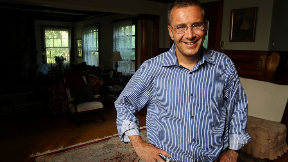 PHOTO: MIT professor of economics, Jonathan Gruber, at his home, June 29, 2012.