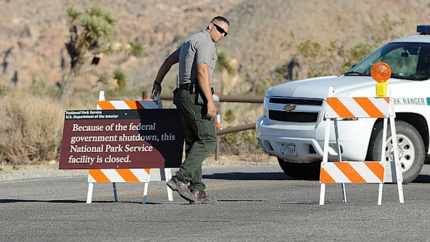 gty joshua tree national park closed ll 131003 16x9 608 Shutdown Drama Puts National Park Service in Crossfire
