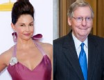 PHOTO: Actress Ashley Judd is expected to challenge Senate Minority Leader Mitch McConnell for his senate seat.