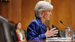 PHOTO: Health and Human Services Secretary Kathleen Sebelius testifies on Capitol Hill in Washington, Nov. 6, 2013.