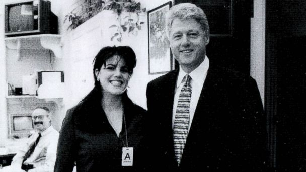 gty lewinsky clinton 01 jc 140506 1 16x9 608 Monica Lewinsky Conspiracy Theories Resurface   From the Right, This Time