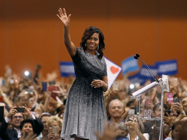 Michelle Obama Emerges as Clinton Campaign's 'Not-So-Secret Weapon'
