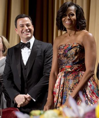 First Lady at the White House Correspondents Association Dinner