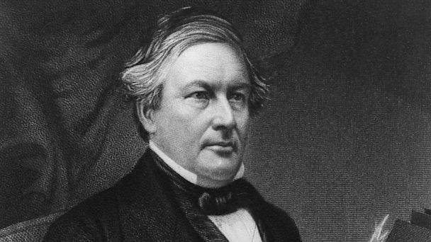 PHOTO: Millard Fillmore was the 13th President of the United States of America.