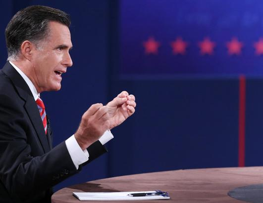 Gestures During the Debate