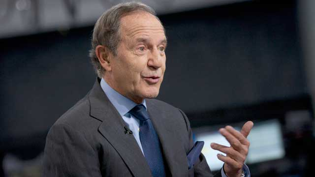 "PHOTO: Mortimer ""Mort"" Zuckerman, chairman and chief executive officer of Boston Properties Inc., speaks during an interview in New York, U.S., April 26, 2012."