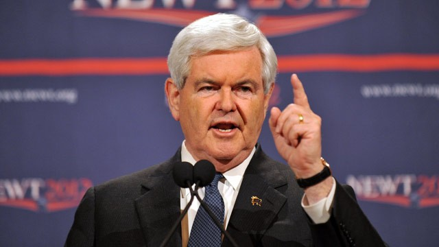 PHOTO: Gingrich Calls Obama Birth Control Policy 'Outrageous Assault' on Religion