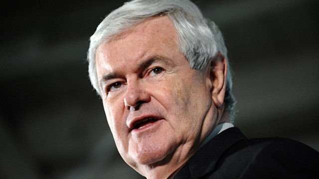 PHOTO: Republican presidential candidate Newt Gingrich speaks at a campaign event in Davenport, Iowa, Dec. 19, 2011.