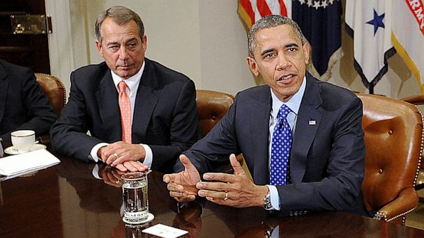 gty obama boehner ll 130829 16x9 608 White House to Brief Key Members of Congress on Syria