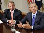 PHOTO: Barack Obama and John Boehner