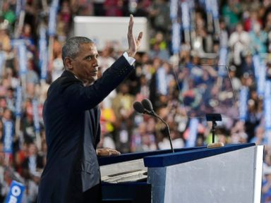 Obama Tells DNC 'We Don't Look to Be Ruled' in Shot at Trump