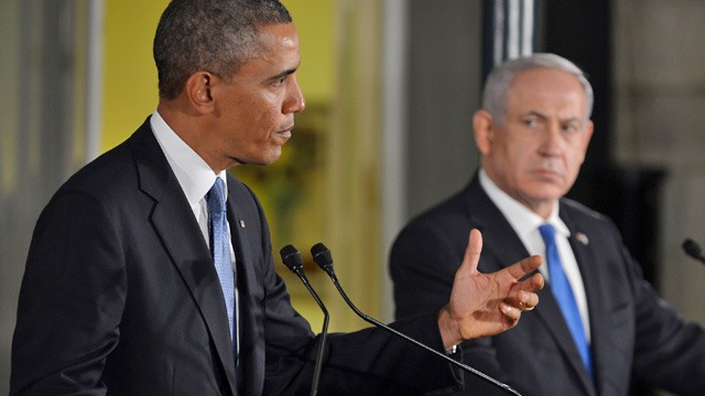 PHOTO: Barack Obama and Benjamin Netanyahu