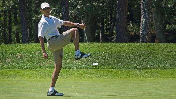 gty obama vacation golfing jc 140711 16x9 608 The Mystery of the Presidential Golf Ball