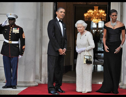Queen Elizabeth II and U.S. Presidents Past and Present