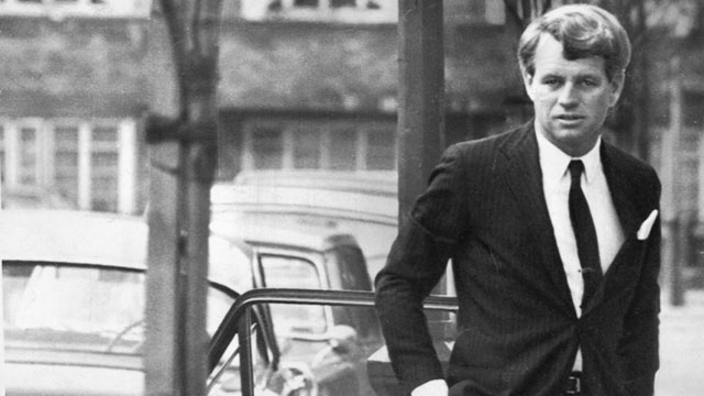 PHOTO: Robert Kennedy in London, 1967.