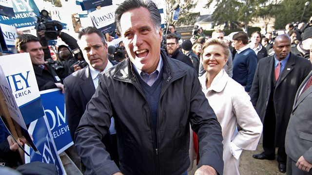 Romney Wins N.H. Primary; Paul In 2nd And Huntsman 3rd - Video