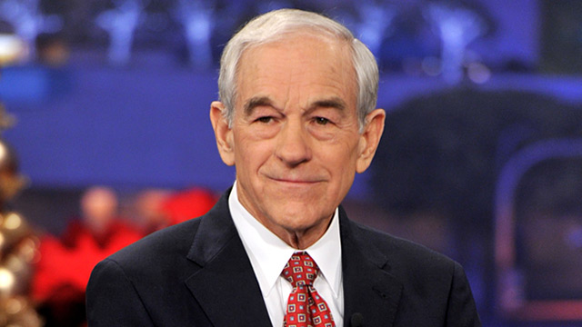 PHOTO: Ron Paul on 'The Tonight Show'