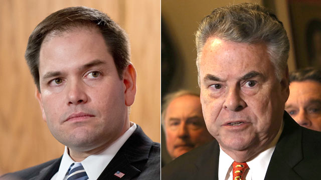 Rep. King Says Rubio Not Welcome in NY