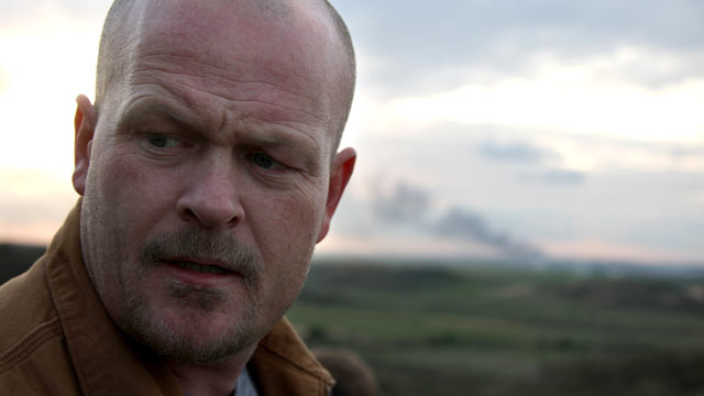 "PHOTO: Samuel Joseph Wurzelbacher, or ""Joe the Plumber,"" stands near the Israeli border on Jan. 11, 2009."